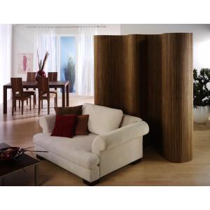 Bambus-Paravent-Einseitig
