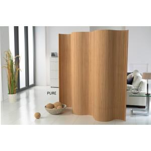 Bambus-Paravent-Doppelseitig