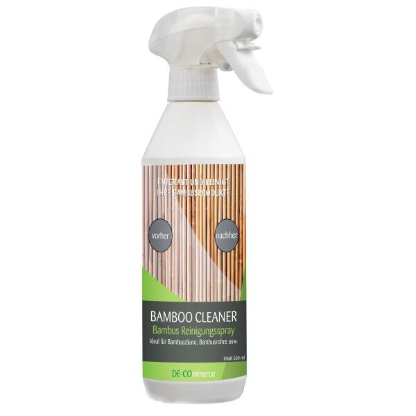 Bamboo CLEANER - Bambus Reiniger Reinigungsspray für Bambus Zaun