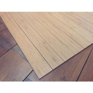 Bambusteppich STRIPES, Bambus Teppich Wohnzimmerteppich Nature, in 15 Größen 60 x 200 cm