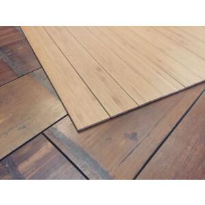 Bambusteppich STRIPES, Bambus Teppich Wohnzimmerteppich Nature, in 15 Größen 75 x 150 cm
