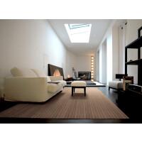 Bambusteppich STRIPES, Bambus Teppich Wohnzimmerteppich Nature, in 15 Größen 75 x 200 cm