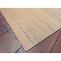 Bambusteppich STRIPES, Bambus Teppich Wohnzimmerteppich Nature, in 15 Größen 155 x 235 cm