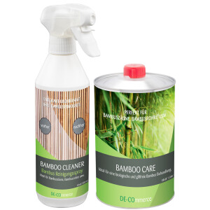 Bambuszaun Pflege Set - Pflegeöl Bamboo CARE +...