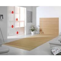 Bambusteppich Wandteppich DUO - Farbe:pure 140 cm x 200 cm