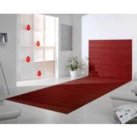 Bambusteppich Wandteppich DUO - Farbe:lava 100 cm x 160 cm