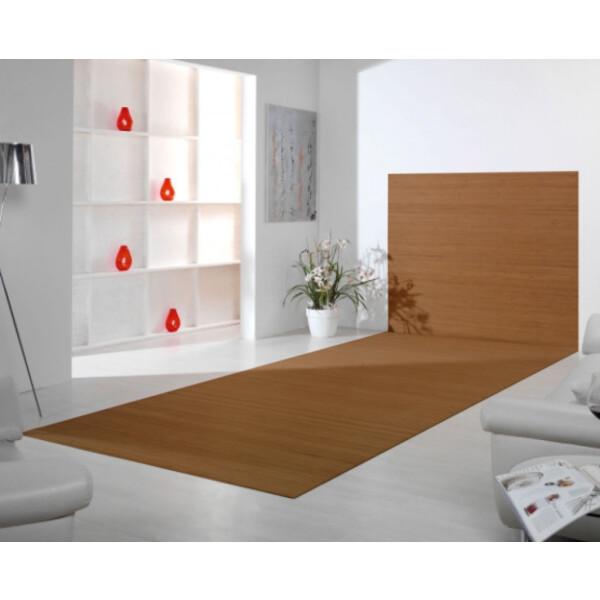 Bambusteppich Wandteppich DUO - Farbe:gold 60 cm x 100 cm