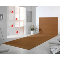 Bambusteppich Wandteppich DUO - Farbe:gold 200 cm x 300 cm