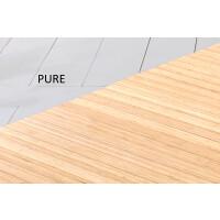 Bambusteppich SOLID pure, Maß ca. 40x60 cm, 50mm Stege auf Gazevliesrücken