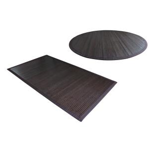 Bambusteppich COFFEE 12 Maße Variantenartikel