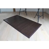 Bambusteppich COFFEE  mit XXL Bordüre 200 x 300 cm