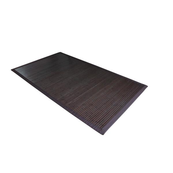 Bambusteppich COFFEE  mit XXL Bordüre 240 x 340 cm