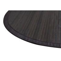 Bambusteppich COFFEE  mit XXL Bordüre 120 cm