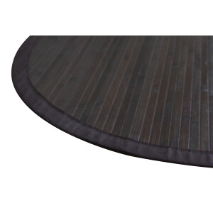 Bambusteppich COFFEE  mit XXL Bordüre 160 cm
