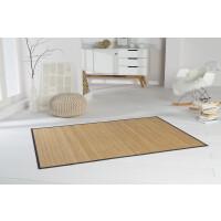 Bambusteppich HighQ 11mm Stege mit schmaler Bordüre