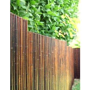 Robuster Bambus Holz Sicht Schutz Zaun ATY NIGRA von...