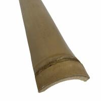 Abdecklatte NATURE Bambus opt. Zwischenraumabdichtung der Bambuszaun Serien