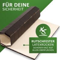 Badteppich KARO in unterschiedlichen Farben und Größen erhältlich ebony 60 x 90 cm