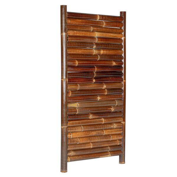 Sichtschutz aus Bambus Gartenzaun Bambuszaun Garten Zaun JAVA Nigra 90 x 180 cm