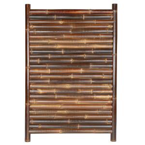 Sichtschutz aus Bambus Gartenzaun Bambuszaun Garten Zaun JAVA Nigra 120 x 180 cm